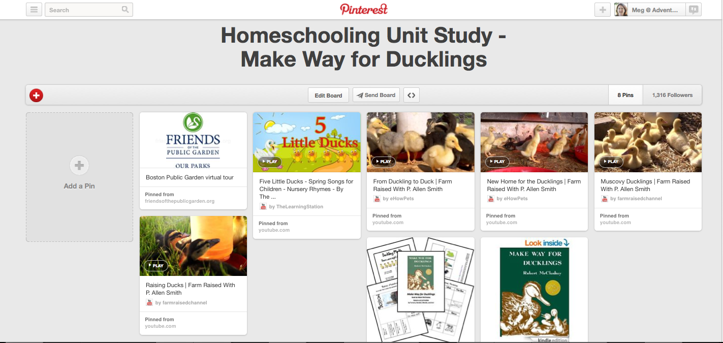 http://www.pinterest.com/mama2lmcjd/homeschooling-unit-study-make-way-for-ducklings/