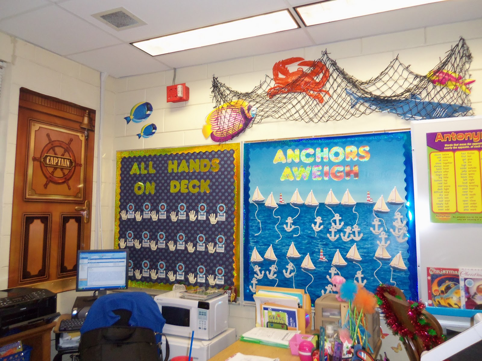 Classroom Decor Nautical ~ A class act themes in the classroom