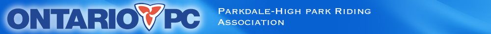 Parkdale-High Park Ontario PC Riding Association