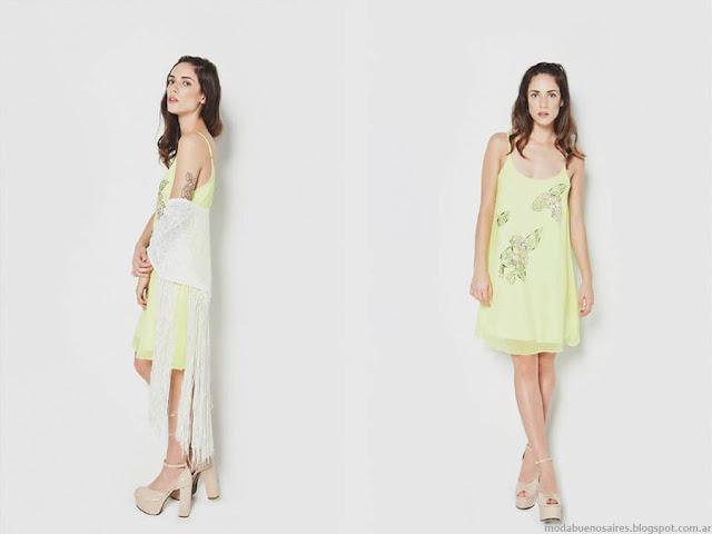 Moda primavera verano 2016 Vestidos. La Cofradía primavera verano 2016.