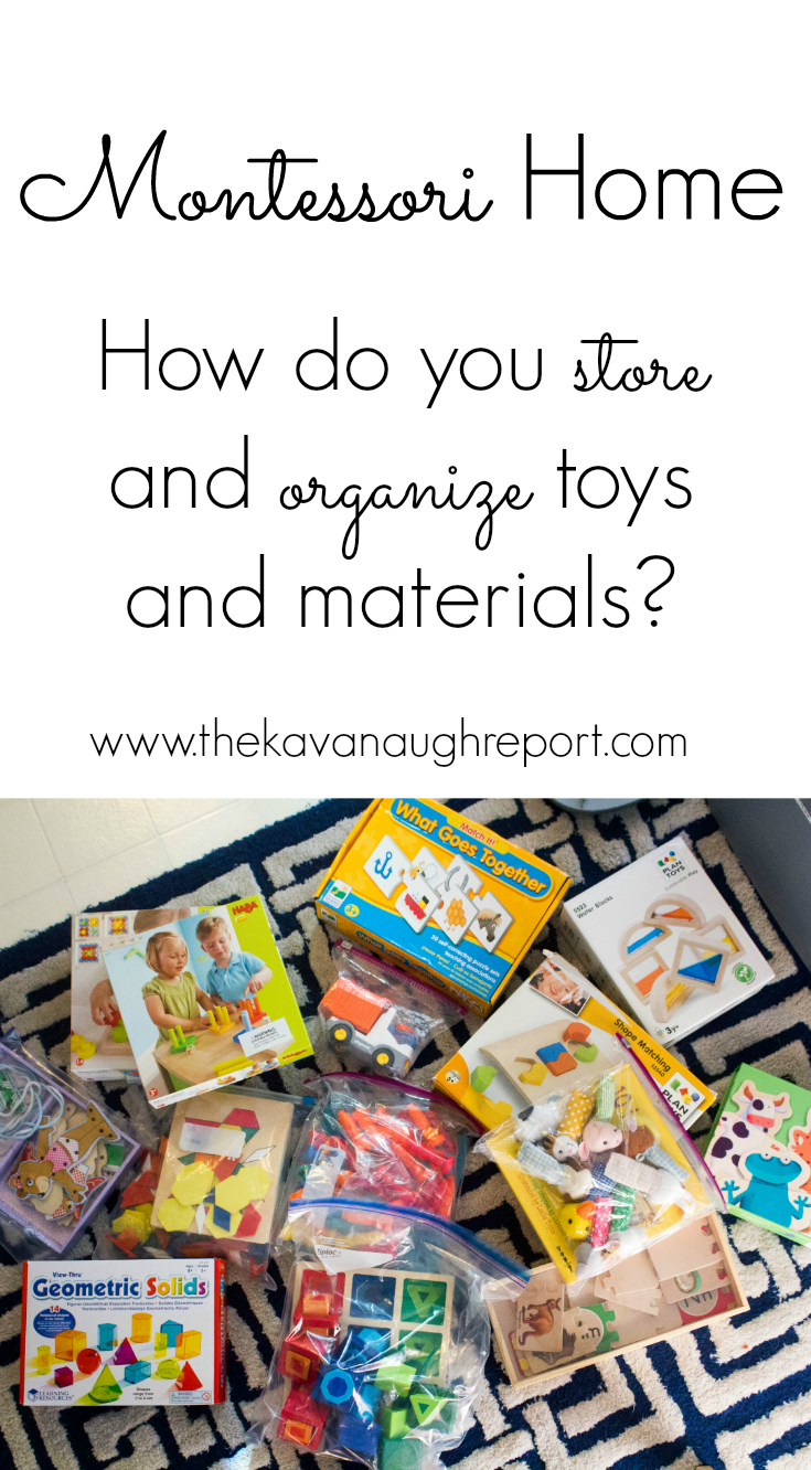 What Do You Use To Store Toys In : How do you store and organize montessori toys materials