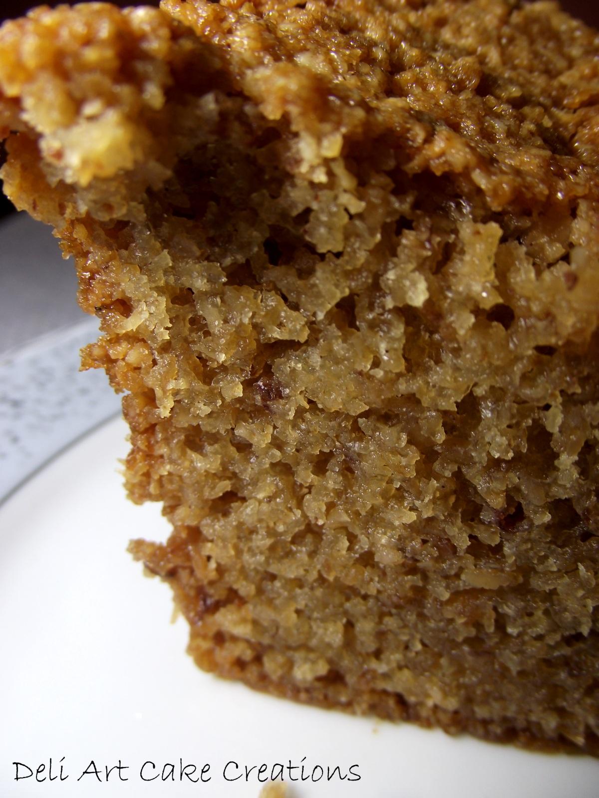 Blog Deli Art Cake Creations : Receita de Bolo de Amendoim bem ?mido Deli Art Cake ...