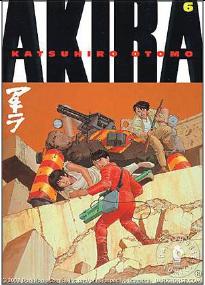 Akira 6,Katsuhiro Otomo,Norma Editorial  tienda de comics en México distrito federal, venta de comics en México df