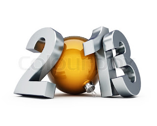 Happy new year 2013 ball