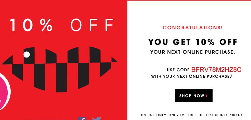 Sephora coupon discount