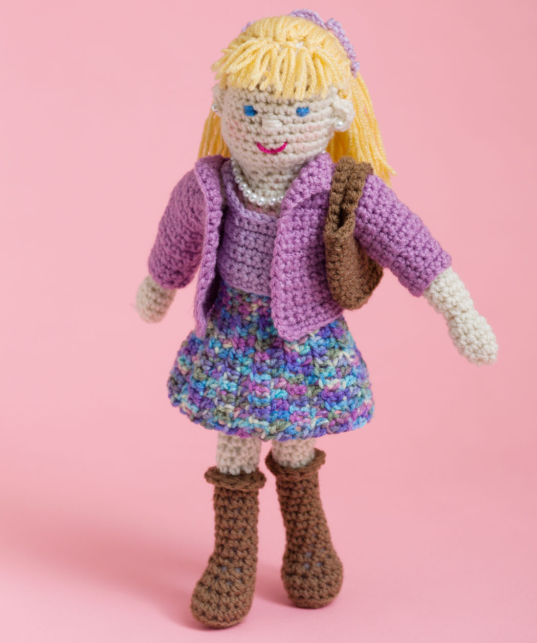 Crochet Doll Pattern Easy : 2000 Free Amigurumi Patterns: Free Lovely Lucy Doll ...