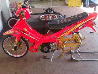 Modifikasi Yamaha F1z R Thailand Style
