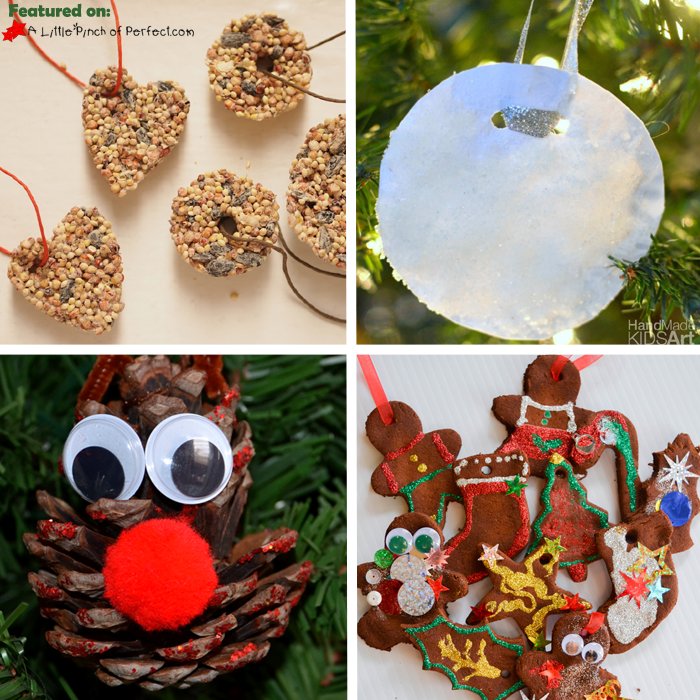 nature inspired christmas ornaments - Christmas Decoration Crafts