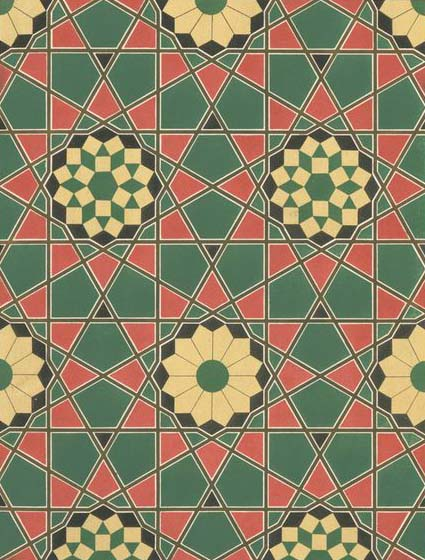 Islamic Mosaic Wallpaper Illustration Mosque Mosaic