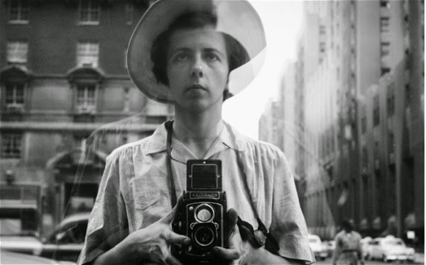 An image of Vivian Maier from Finding Vivian Maier