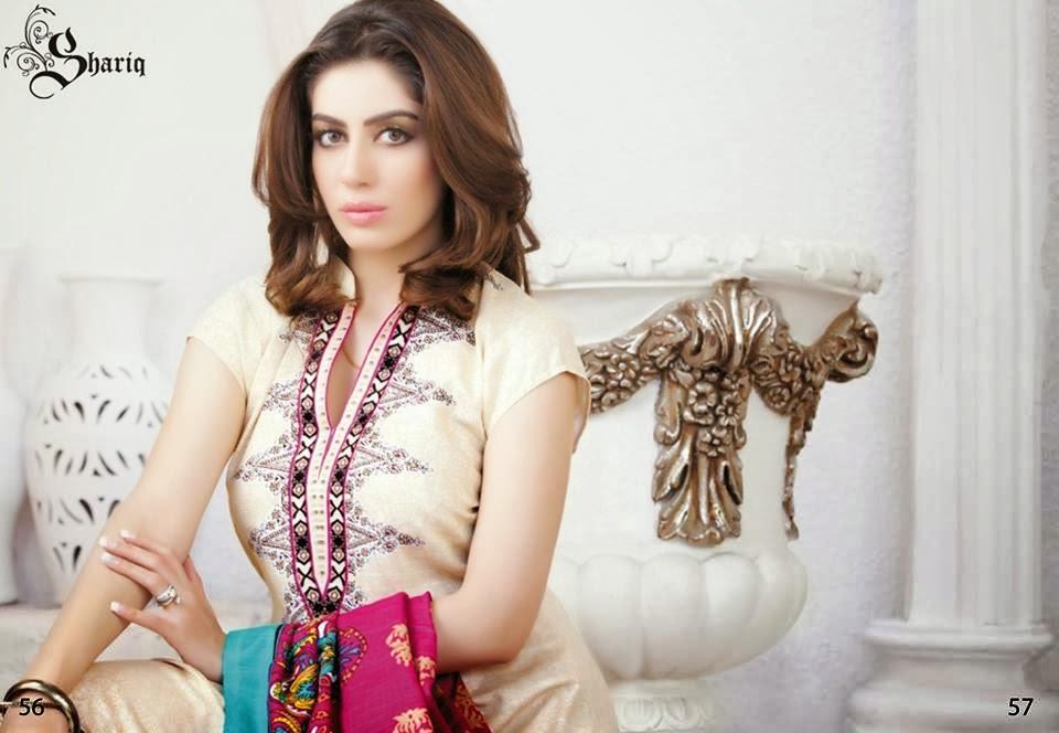 Shariq Textiles+Latest+Female+Khadder+Dress+Collection+In+2013 14004
