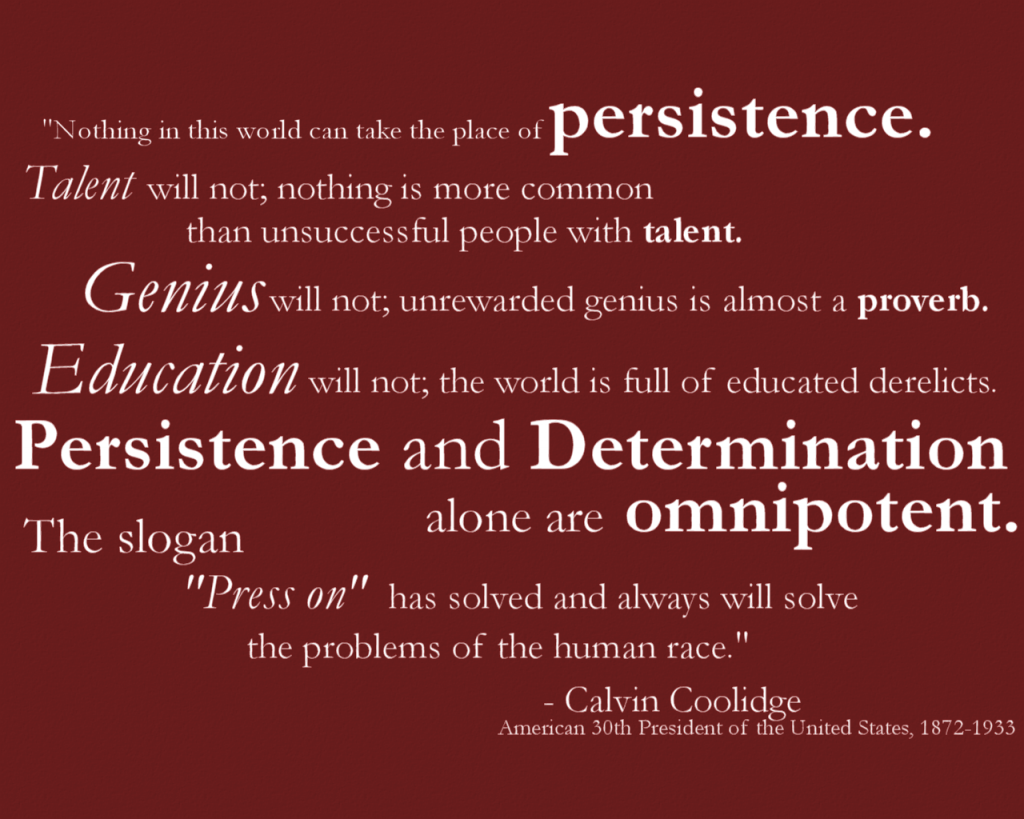 Persistence Quote Poster Posters,quotes