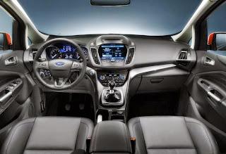 2015 Ford C Max Energi Interior