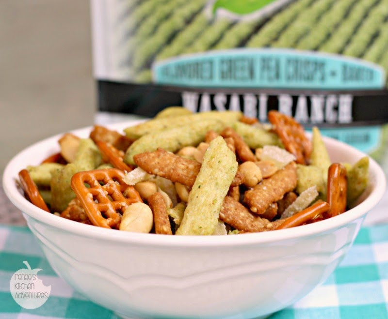 Harvest Snaps Wasabi Ranch Snack Mix