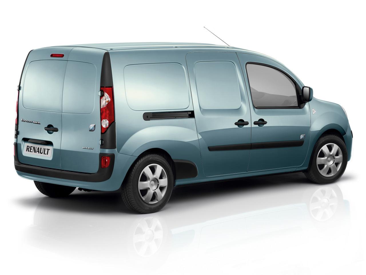 autos eco friendly nuevo renault kangoo maxi ze. Black Bedroom Furniture Sets. Home Design Ideas