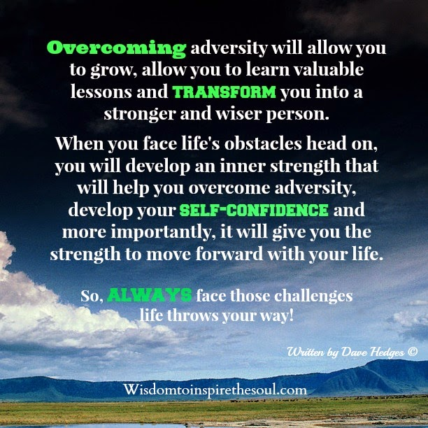 Overcoming adversity poems