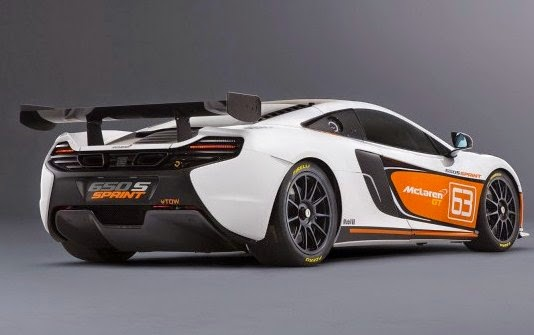 2016 MC Laren 650 S Rear View