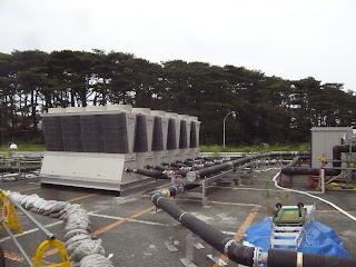 Refrigeratore per l'acqua di raffreddamento dei reattori
