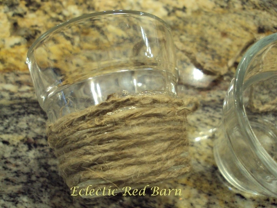 Eclectic Red Barn: Small Glass Votives