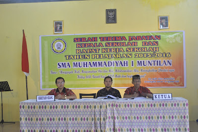 rapat kerja sma muhammadiyah 1 muntilan,eddy yusuf,yanto siswoyo,sutikno,2015