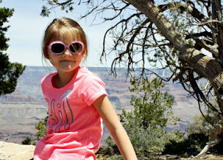 Tessa at Hopi Point, Grand Canyon - South Rim.