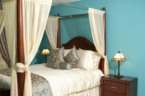Scuba+blue+2 blue paint idea for traditional bedroom