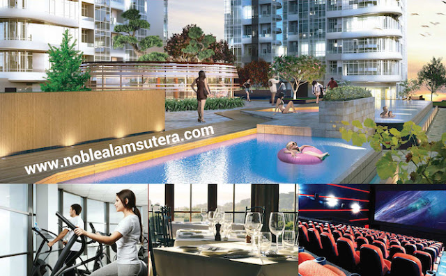 The Noble Alam Sutera Apartment Facilities