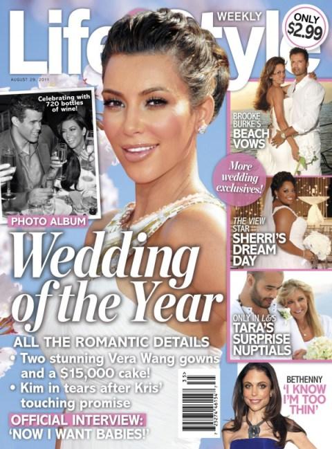 Kim Kardashian @ ' Life & Style' Cover Page !