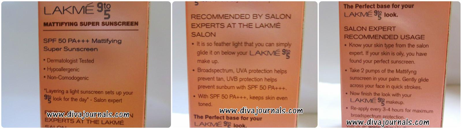 Lakme 9-to-5 Mattifying Super Sunscreen SPF 50 PA+++ Review