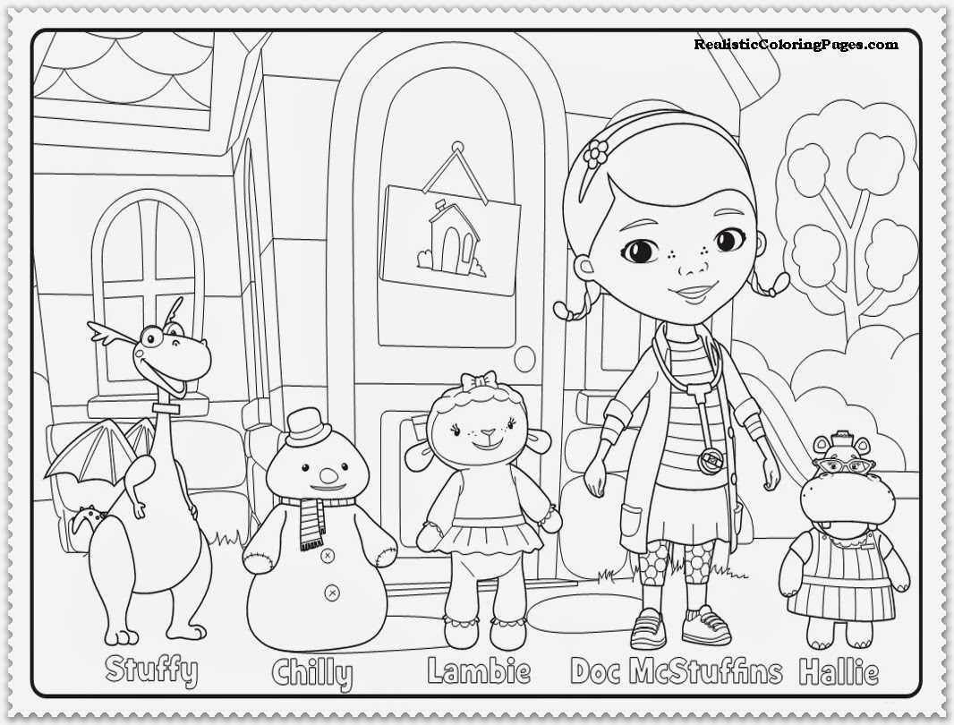 doc mcstuffins toys coloring pages