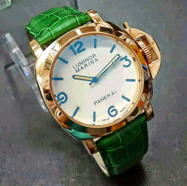 Luminor Marina Firenze Gold hijau