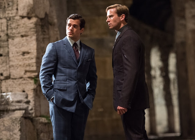 man from uncle still Henry Cavill Armie Hammer