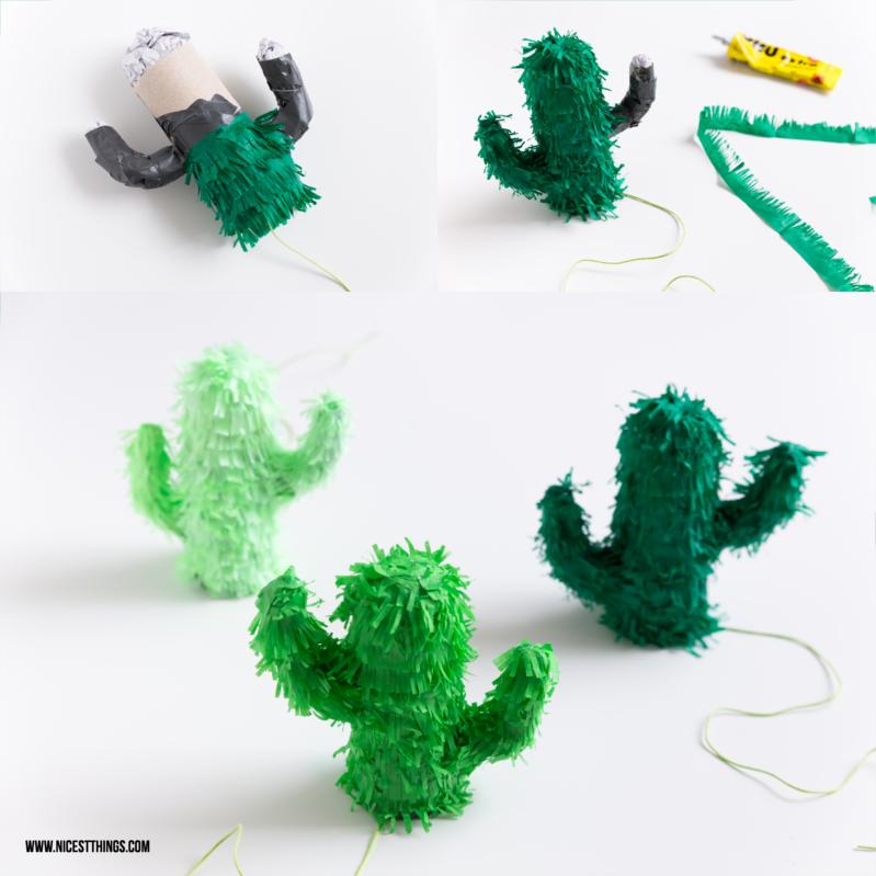 Cactus Pinata DIY 3