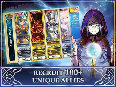Chain Chronicle RPG V1.7.0 MOD APK High Damage