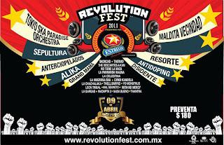 Revolution Fest 2011 en Calle 2 Guadalajara