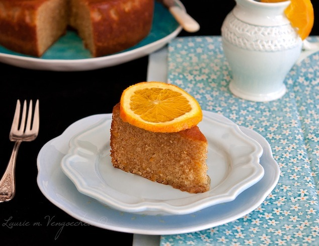 Orange-Scented Olive Oil Cake Recipe — Dishmaps