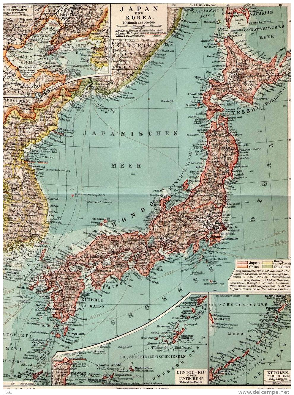 Big Blue Japan - Japan uk map
