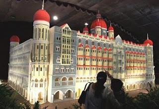 Kue replika Mumbai Taj Mahal Palace Hotel