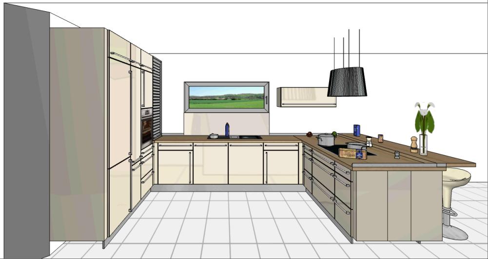 Wir bauen ein NEO von FingerHaus: Küchenplanung | {Küchenplanung 66}