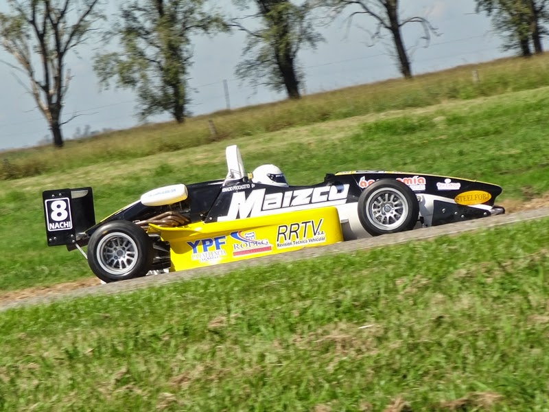 Procacitto en Marcos Juárez con la Fórmula Renault Plus
