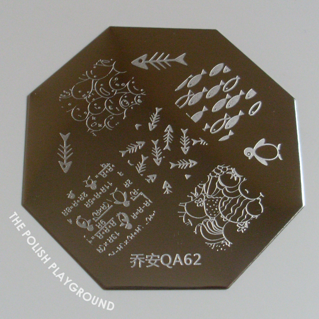 Born Pretty Store QA62 Nail Stamping Plate