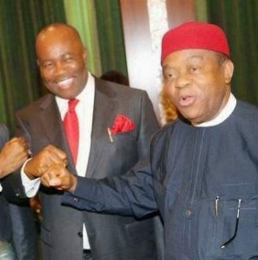 Governors of Abia and Akwa-Ibon states Godswill Akpabio & Theodore Orji  win Senatorial elections