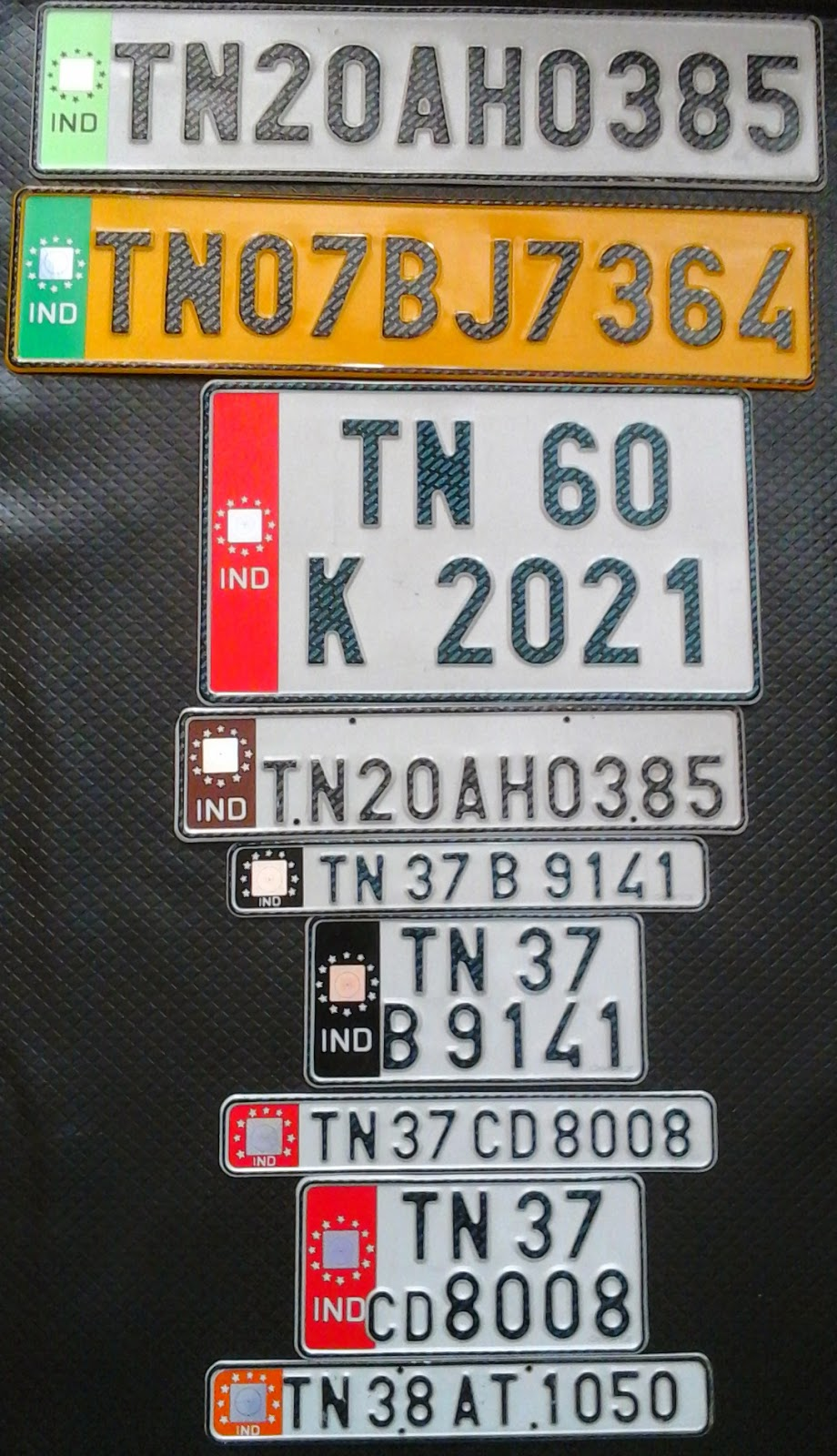 Laser Number Plates Ind Number Plate in Coimbatore