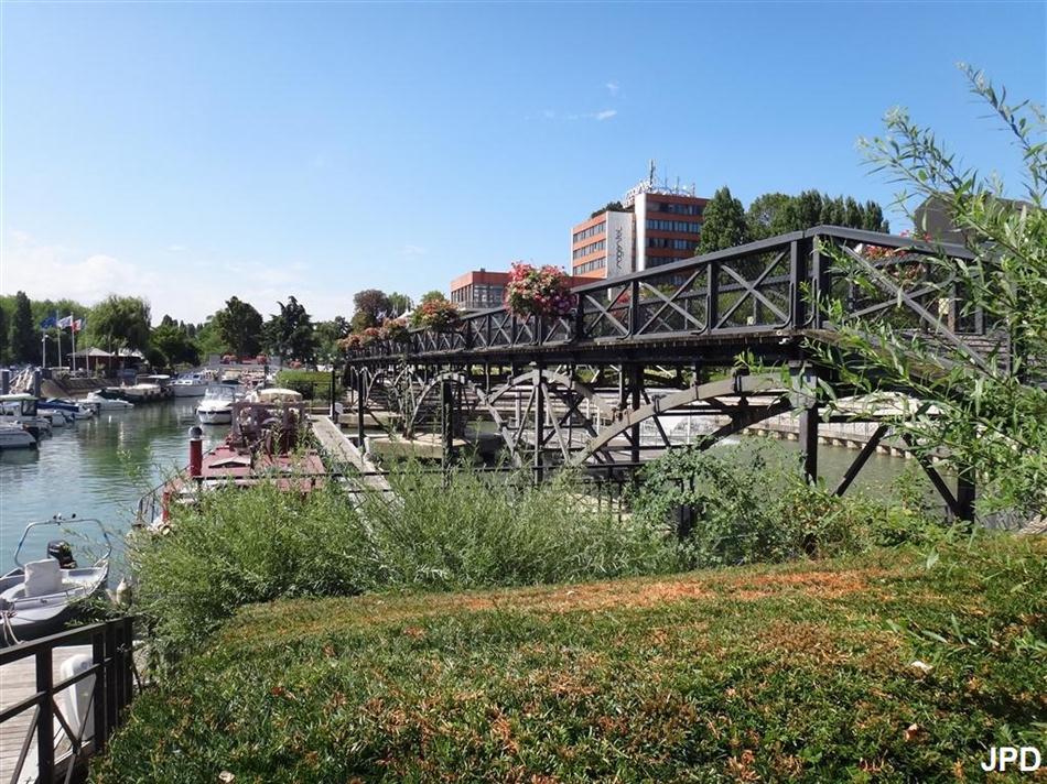 Paris bise art la passerelle des arts ou pont des arts - Port de nogent sur marne ...