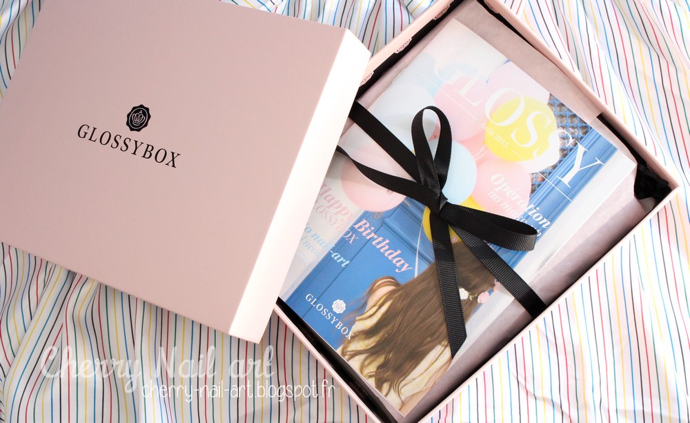 glossybox aout 2015 fresh touch