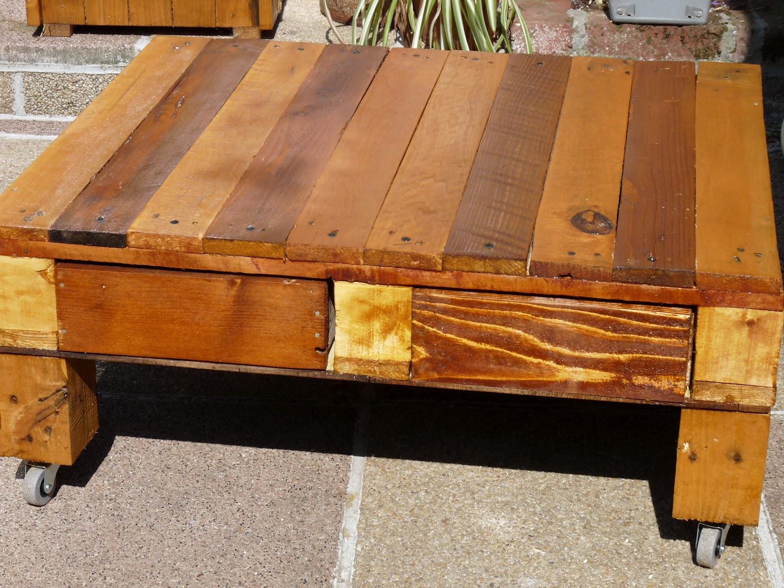 Table basse de salon de jardin