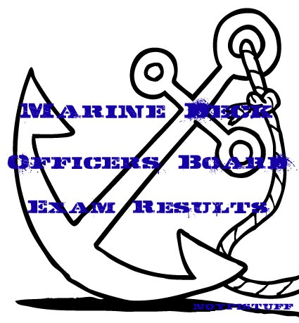 results july 2012 the results for the july 2012 marine deck officers