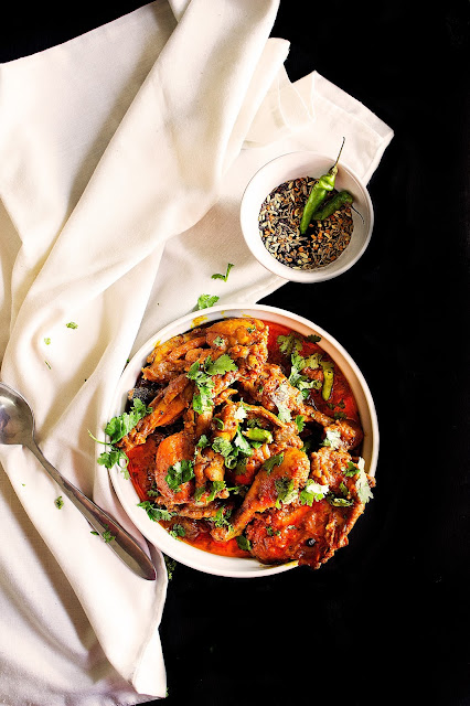 spicy chicken curry with panch phoron recipe