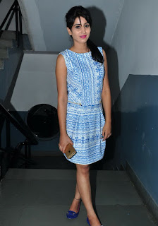 Actress Model Shamili Pictures in Short Dress at Andhra Pori Premiere  04.jpg