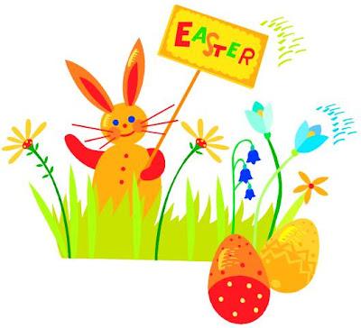 Coelhinho da Páscoa, amêndoas, ovos de chocolates e muito mais!